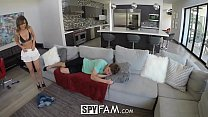 SpyFam Step sister Dilli Harper curious about step brother cock - 9Club.Top