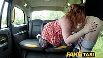 Fake Taxi Ginger cock monster deepthroats and anal صورة