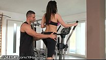 Aletta Ocean fucks at the gym - more videos: ht...