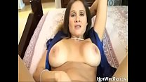 HotWifeRio Tanned Mom Catches Son In Her Panty Drawer | old ladies fucking thumbnail