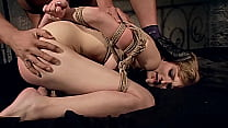 18 years old slut Tiffany curiously wants to tr...