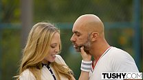 {Afton mommy} ⁃ TUSHY First Anal For Tennis Student Aubrey Star thumbnail