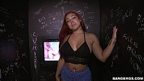 Thick Latina Staci Doll Deep Throats In The Glo...