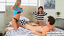 Alexis Fawx and Lilith Shayton threesome