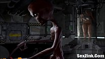 3D Animation Alien - Full HD Video on SexZink.Com