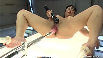 Wet Pussy Asian Is Machine Fucked