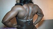 FemaleMuscleClips, Victoria Dominguez at Nation...