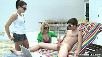Backyard Handjob - Brandi Belle Thumbnail