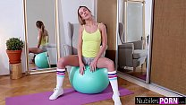 Private Workout With Alexis Crystal And Huge Cock Trainer S16:E8 [운동중에 벌어지는 일 Workout]