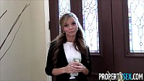 14504 Property Sex - Sexy petite real estate agent tricked into fucking on camera preview
