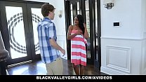 BlackValleyGirls - Peeping Tom Fucked By Cute Black Teen (Lala Ivey)