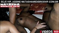 Are you a real fan subscribe now to natashamedeirosvip.com and participate in the recordings with the hottest mulatto woman in Rio de Janeiro, nymphet Natasha Medeiros and company gifted rolling up the black woman's ass. a lot of sex, ana