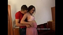 Sexy Pregnant Sis With Glasses pornhub video