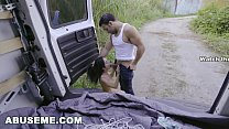 ABUSEME: Petite Teen Kiley Jay Gets Her Twisted Rough Sex Fantasy Fulfilled thumbnail