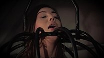 Teen in submission trapped in the bondage dunge... Thumbnail