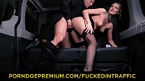VIP SEX VAULT - Beautiful Russian blondie Lucy Heart gets cum covered in hot car fuck preview image