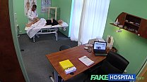 FakeHospital Thick beautiful blonde lets the do...
