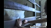 Olga Martinez and Rocco Siffredi have anal fun in the stable and on some hay thumbnail