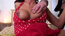 horny MIlf pumped and deep anal fucked image