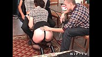 French mature anal fucked in threesome Thumbnail