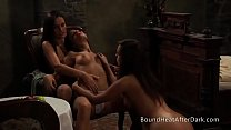 The Mistress of Despair: Kinky Lesbian Slaves In Threesome video