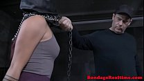 Spanked Asian Slave Getting Toyed