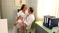 Free download video bokep Clinic threesome with Milf Doc Dominica Phoenix leads to double penetration