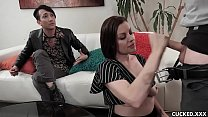 Big Tits Brunette Babe Sovereign Syre Cucks Her Husband By Fucking Her Doctor