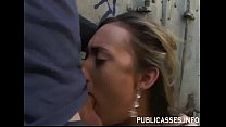 Truck Driver Delivering a Hard Fuck To Gwen Diamond thumbnail
