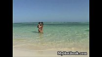 In this outdoor  interracial  FFM hardcover threes thumbnail