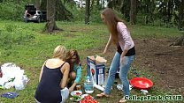 College babe fucked at outdoor bbq - 9Club.Top
