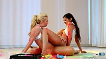 Teen Lesbians Samantha Rone and Taylor Reed