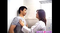 Free download video bokep Yuko Tachibana has cum pouring from mouth after sucking boner