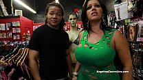Big Titted Angelina Castro Fucks & Squirts in a... Thumbnail
