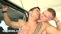 GAYWIRE - Bareback Gay Sex Out In Public At Airport With Paul Fresh