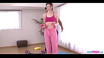 sexy yoga teacher in leotard pantyhose-Watch Part2 on oxopron.com
