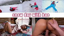 Amia Miley Goes On Winter Holiday With Miles Long