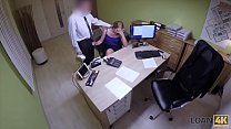 LOAN4K. Teen girl cant pay for education so why seduces loan agent
