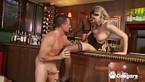 Cougar Daria Glower Picked Up & Ass Fucked Right In A Bar