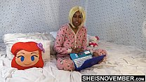 17456 Step Dad Sneaking Into My Room To Teach Me Sex , Cute Black Step Daughter Msnovember In Hello Kitty Onsie Buttflap , Before Mom Gets Home HD On Sheisnovember preview