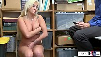 Big Ass Mommy | blonde teen with big tits busted by a bad policeman thumbnail