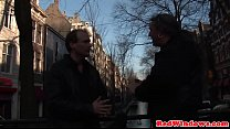 15539 Dutch hooker creampied by tourist in Amsterdam preview