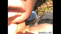 Private fuck session with concupiscent couple screwing like animals preview image