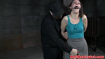 Restrained sub dildofucked by maledom pornhub video