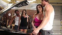Dava Foxx 4some Fuck