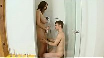 Lucie Wilde Has  Fun With His Boyfriend In The oyfriend In The Shower