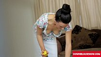home clean d ownblouse