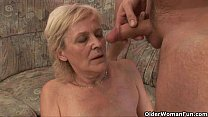 Image: Mom will take your cum in any way she can