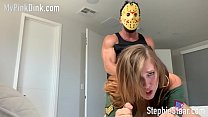 Jason Costume Roleplay and Bondage's Thumb