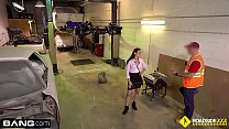 Roadside - Alexandra pays her tow bill with a b...